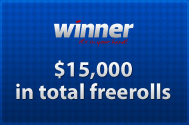 Qualify Now for $15,000 in Freerolls on Winner Poker 0001