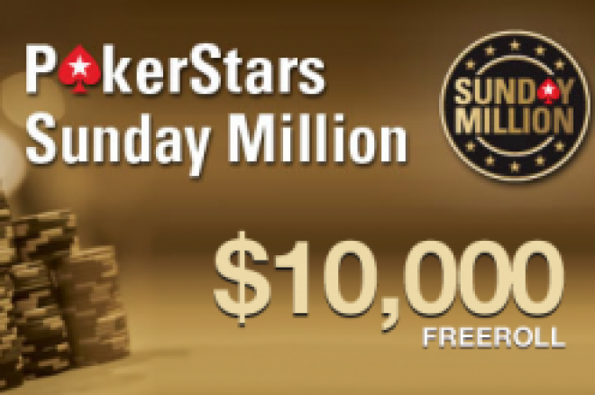 PokerStars $10,000 Sunday Millions freeroll