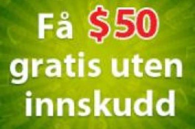 $50 gratis kampanje hos PartyPoker - Ingen innskudd! 0001