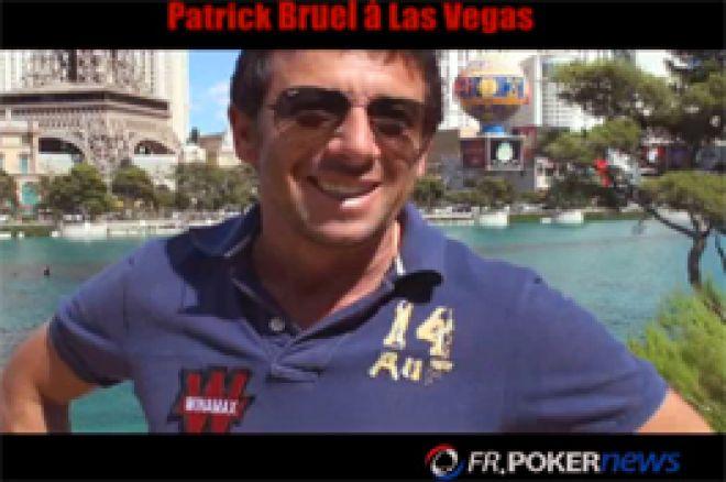 Interview Poker en vidéo de Patrick Bruel à Las Vegas (Hotel Bellagio, 12 Juillet 2010) sur ses perfs et Winamax.fr.