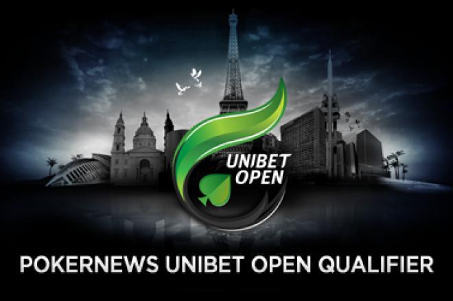 Spill €2,750 Unibet Open kvalifisering freeroll i dag 0001