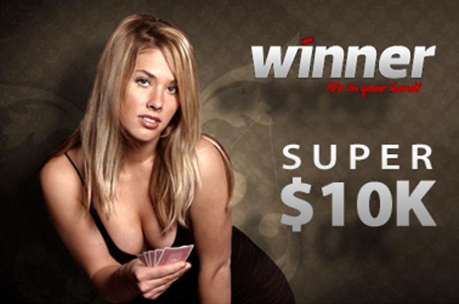 Poslední den pro kvalifikaci do freerollu o $10,000 na Winner Poker 0001