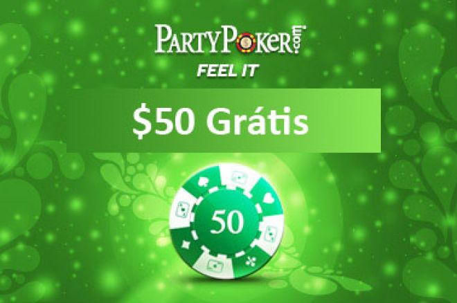 promoção partypoker freeroll