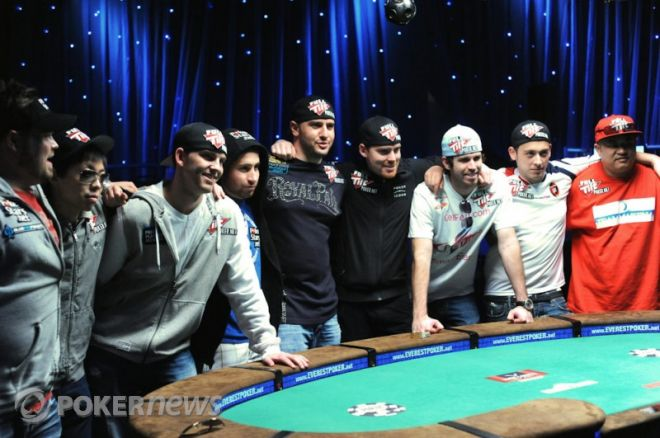 2010 World Series of Poker Ден 48: Michael