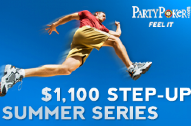 "$1,100 Sommer ""Step Up"" turneringer fra PartyPoker 0001"