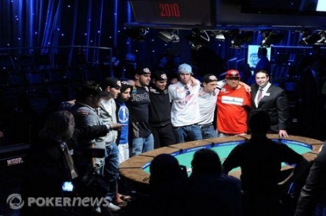 Kihlveokontorid avasid panustamise WSOP finalistide peale 0001