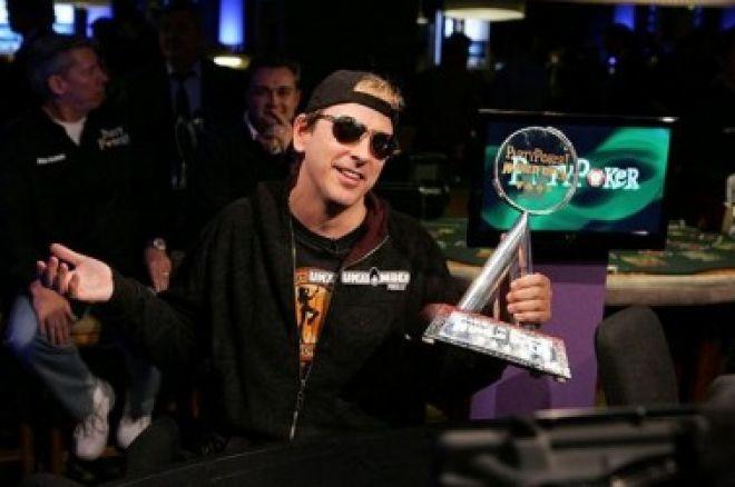 Phil Laak似乎已为下届的第六届欢聚扑克世界杯开放赛确定开幕日之冠军... 0001