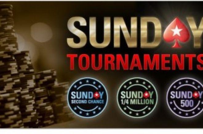 PokerStars sekmadienio turnyrų grafikas 0001