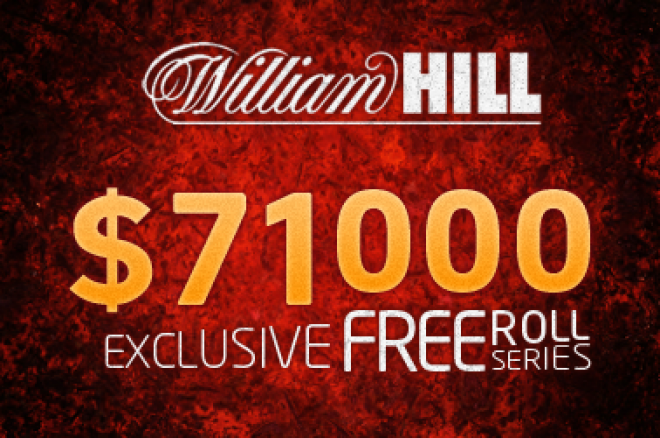 Kvalifikujte se do $20k PayDay freerollu na William Hillu! 0001