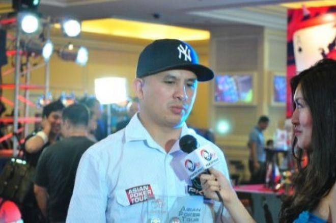 J.C. Tran于2010年APT菲律宾站获得了名人慈善赛事的冠军 0001
