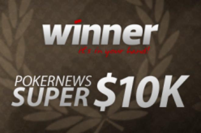 Husk Winner Poker Super $10k nå på søndag - kvalifisering pågår! 0001