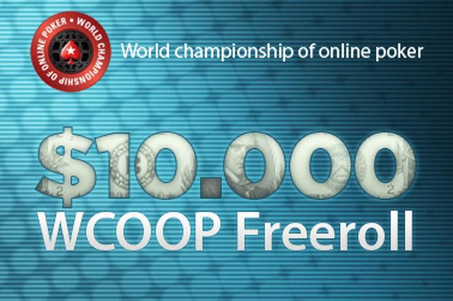 $10.000 WCOOP Freeroll a PokerStarson - utolsó esély a kvalifikációra! 0001