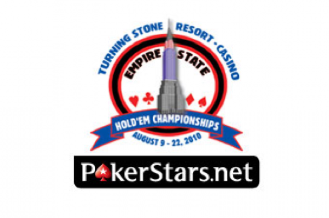 PokerStars.net Empire State Hold'em Championships Wrap Up at Turning Stone 0001