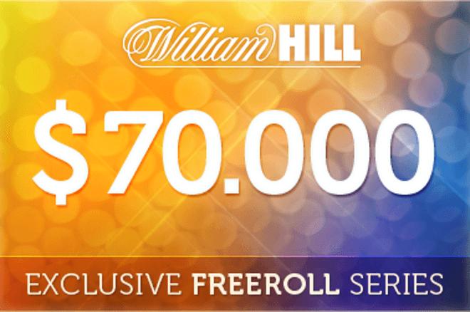 Csütörtökön újra $2.000 William Hill Freeroll - könnyű a kvalifikáció 0001