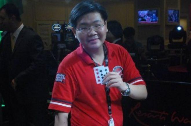 Michael Cua赢得2010年APT菲律宾站主赛事冠军 0001