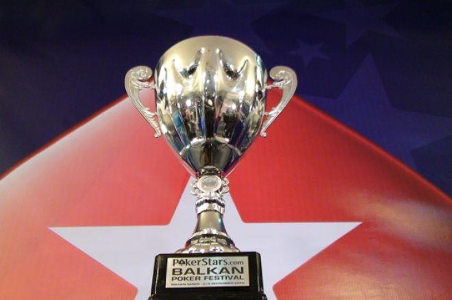 PokerStars Balkan Poker Festival Ден 1А - Пламен Тодоров води по чипове 0001