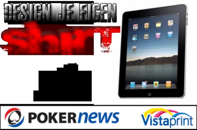 Design het mooiste pokershirt en win een iPad!