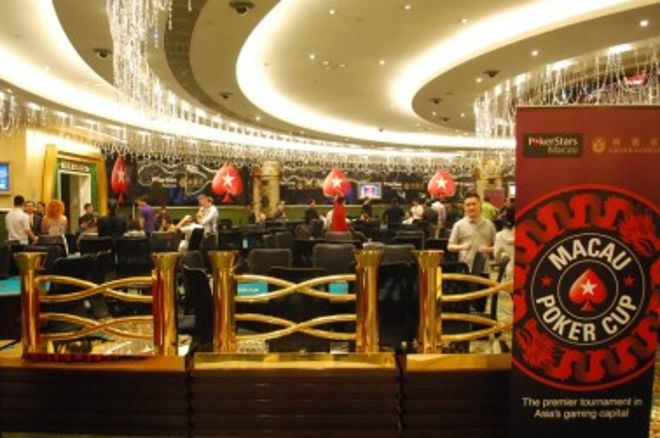 跟随中国扑克新闻有关澳门扑克杯红龙锦标赛主赛事的现场报导! 0001