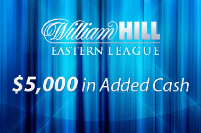 PokerNews ir William Hill Rytų Europos Lyga pasiruošusi startui! 0001