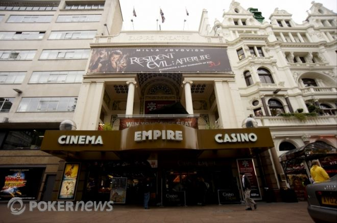 WSOPE vid Empire Casino i London