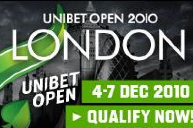 Kvalifiser deg til Unibet Open i London 4-7.desember 0001