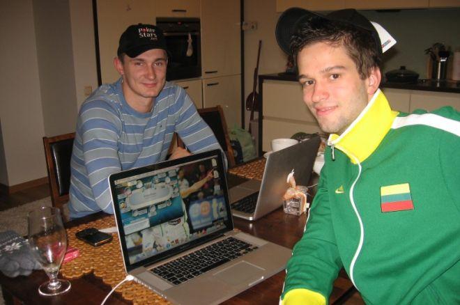 Artėjant BCOOP internete pokerį išbandė Lietuvos rinktinės krepšininkai 0001