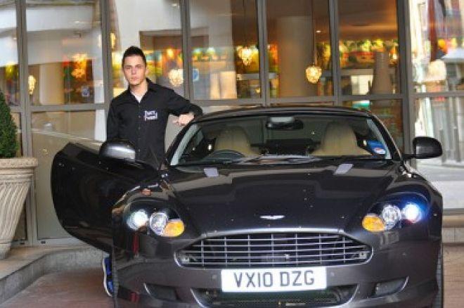 PartyPoker savaitraštis: Aston Martin laimėtojas nemoka vairuoti, video konkurso... 0001