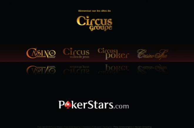 Circus Groupe и PokerStars обявиха онлайн покер партньорство 0001