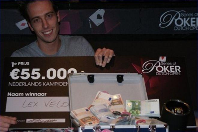 Lex Veldhuis wint de Holland Casino Dutch Open (€55.000)