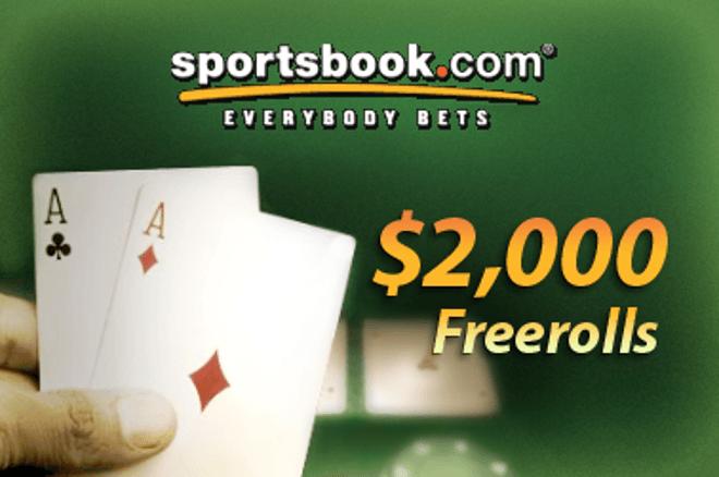 Havonta jelentkező $2.000 Freeroll a Playersonlyn és a Sportbook Pokeren 0001