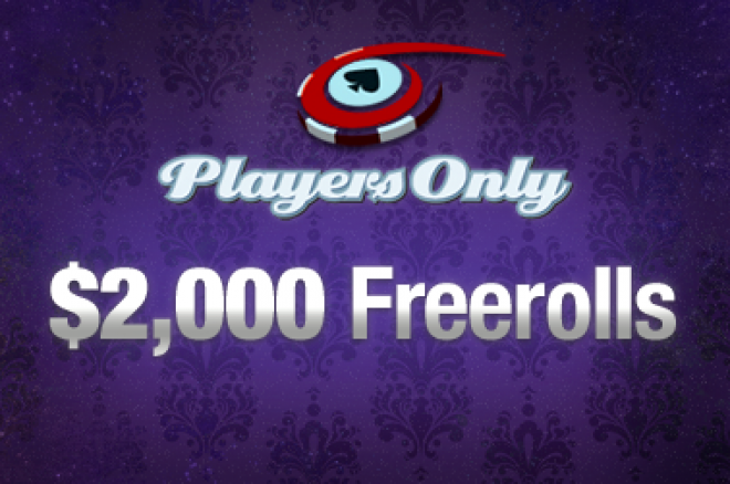 Krátí se nám čas do dalšího $2,000 Frerollu na PlayersOnly! 0001
