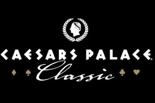 Andreas Høivold ute av Caesars Palace Classic 0001