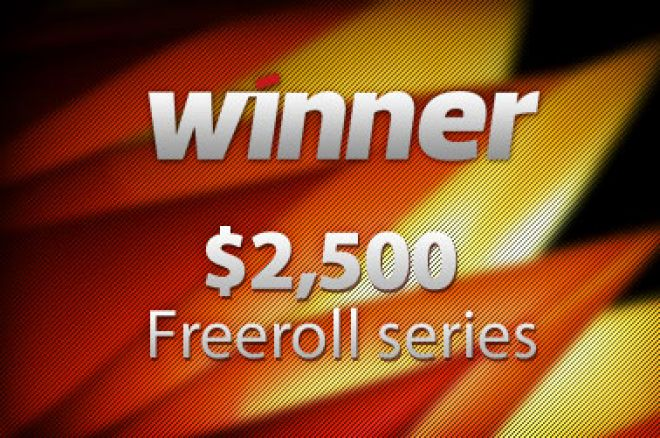 Winner Poker vender tilbake med sin $2,500 freeroll serie! 0001