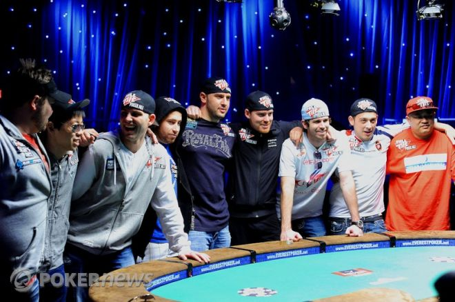 November Nine vid 2010 års World Series of Poker Main Event final