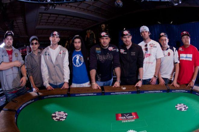 WSOP Main Event finale bord er startet 0001
