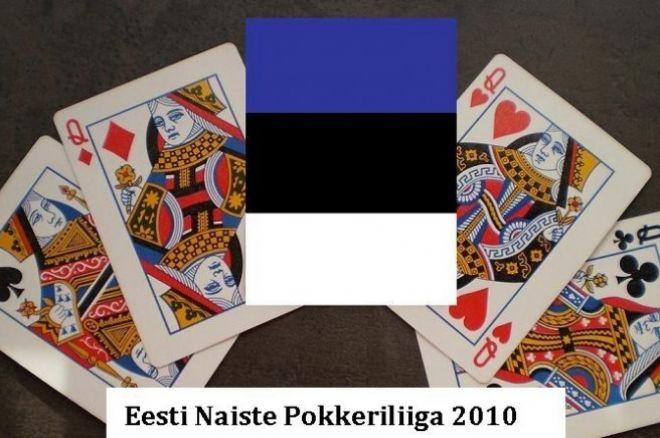 Eesti Naiste Pokkeriliiga turniirid algavad taas kell 20.10 0001