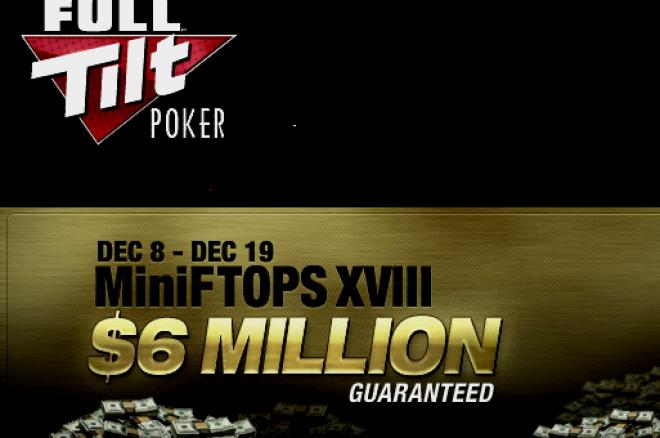 Full Tilt Poker MiniFTOPS може да ви сгрее през декември 0001