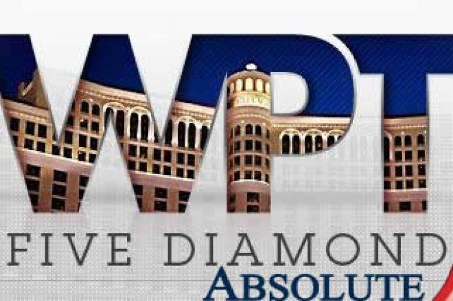 Спечелете $12,000 място на WPT Five Diamond с Absolute Poker 0001