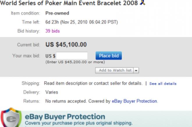 Цената на WSOP златото поскъпва (на eBay) 0001