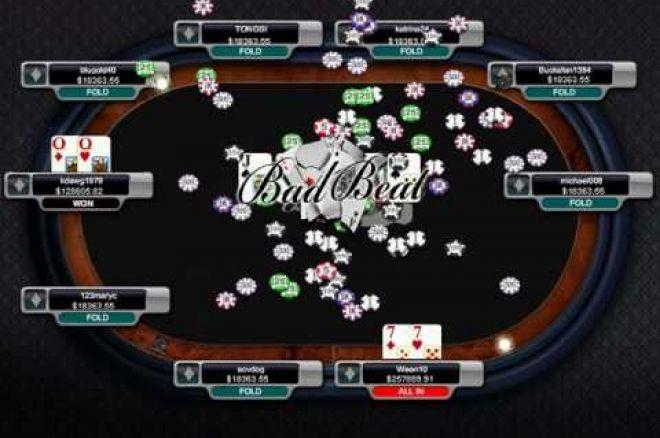 $150,000 Bad Beat Jackpott utbetald hos Carbon Poker