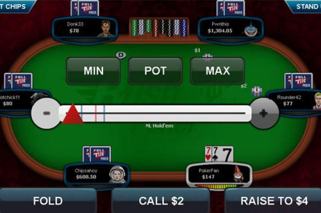 Full Tilt Poker - Rush Poker Apps er tilgjengelig på Android telefoner 0001