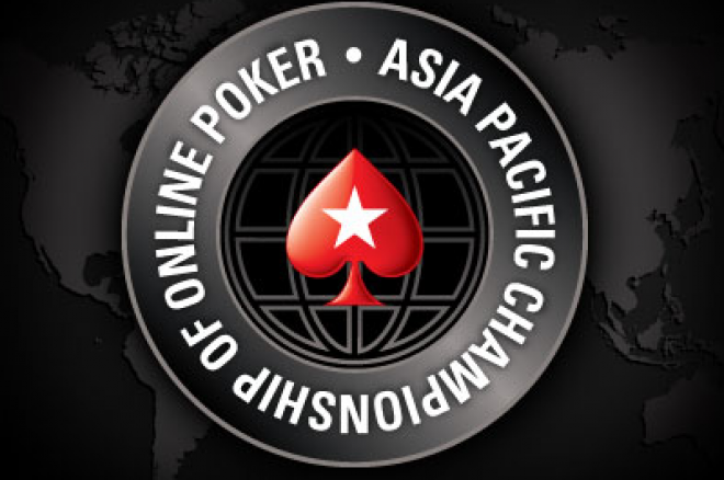 PokerStars와 Asia Pacific Championship of Online Poker 0001