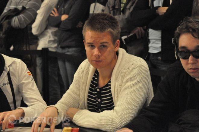 """Kristoffer """"Sumpas"""" Thorsson bäste svensk inför dag 2 EPT Barcelona 2010"""
