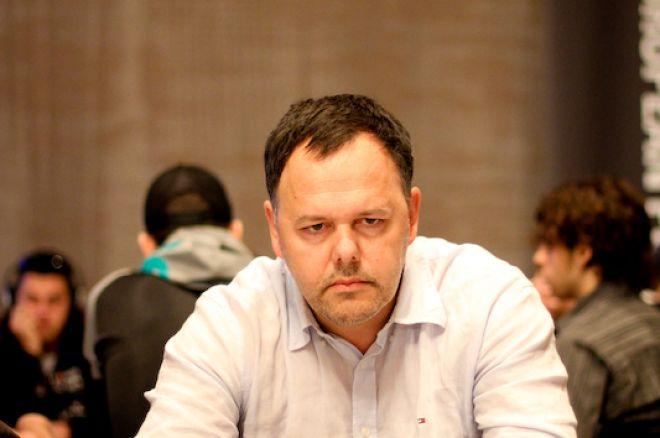 PokerStars EPT Barcelona: Naalden bovenaan, De Visscher de bubble