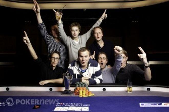 Svenske Kent Lundmark Vinder EPT Barcelona 0001