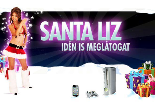 Santa Liz idén is meglátogat - Fantasztikus ajánlatok a Chili Poker -től !! 0001