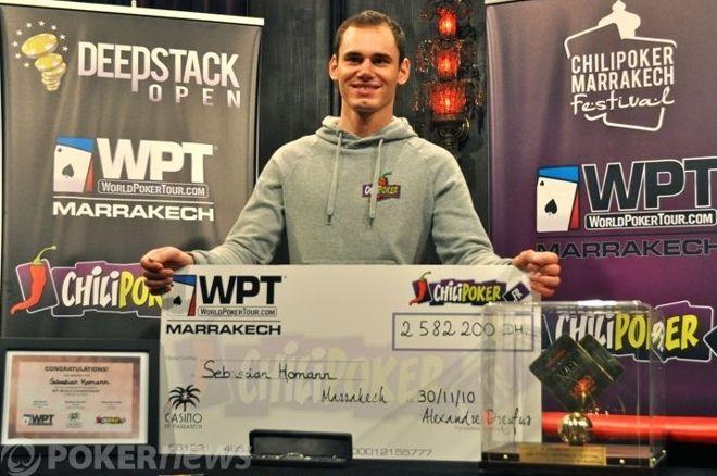 A német Sebastian Homann nyerte a WPT Marrakecht 0001