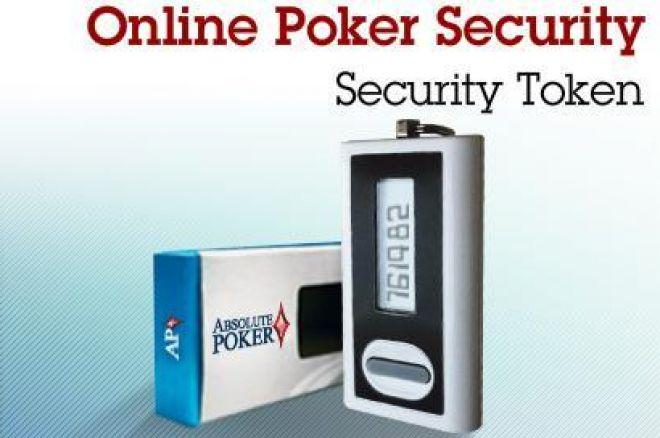 Nové bezpečnostní tokeny na UB a Absolute Pokeru 0001