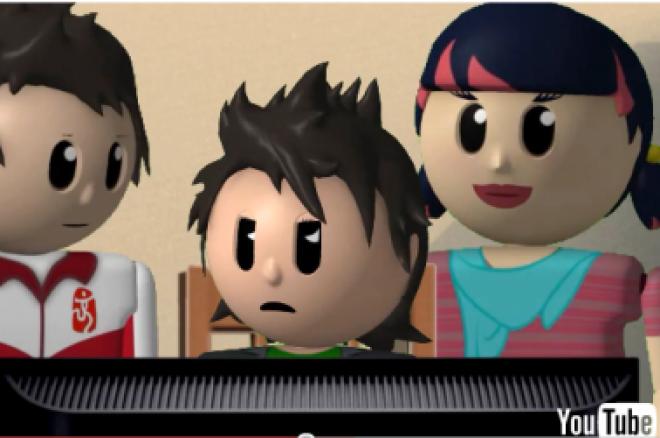 Animovaný seriál o pokeru 0001
