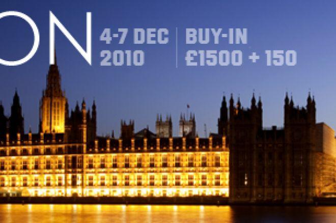 Unibet Open London: Præmieudbetalingerne 0001
